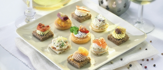 Chitchat catering management co for French canape menu